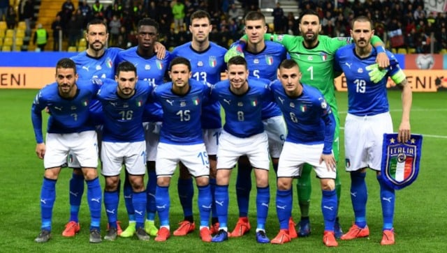 Italy players receive first dose of COVID-19 vaccine ahead of European Championships