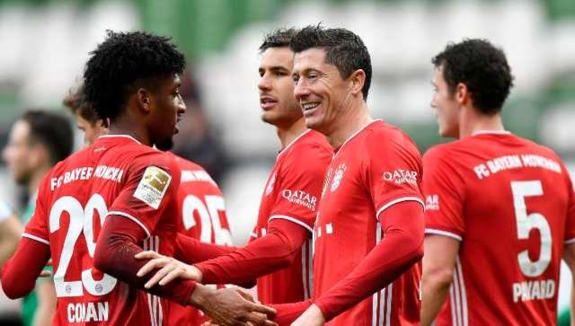 Bundesliga: Bayern's Robert Lewandowski sets sights on Gerd Mueller's goal record after securing title