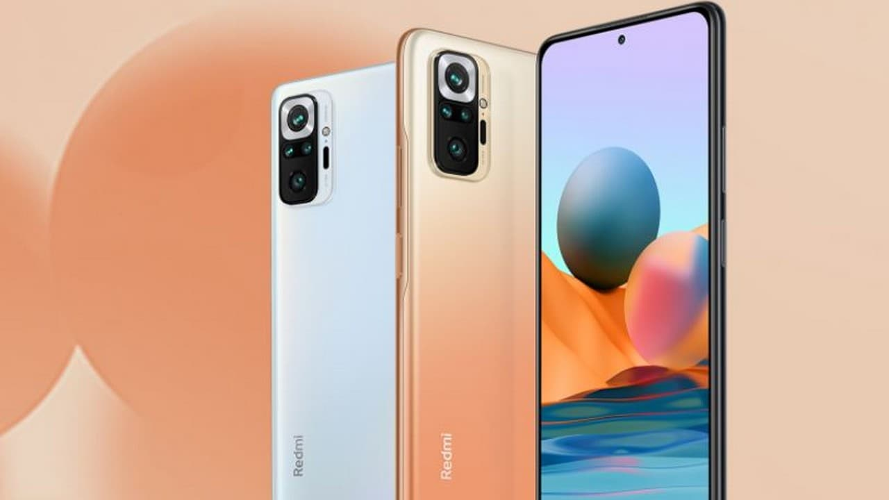 Redmi Note 10 Pro with a 64 MP quad camera setup to go on sale today at 12  pm on Amazon and Mi.com- Technology News, Firstpost