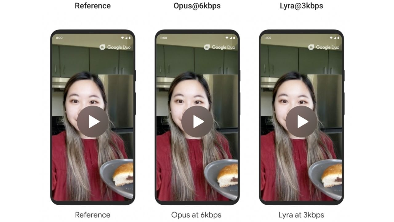 Google Duo is testing new Lyra codec to compress videos over poor connection