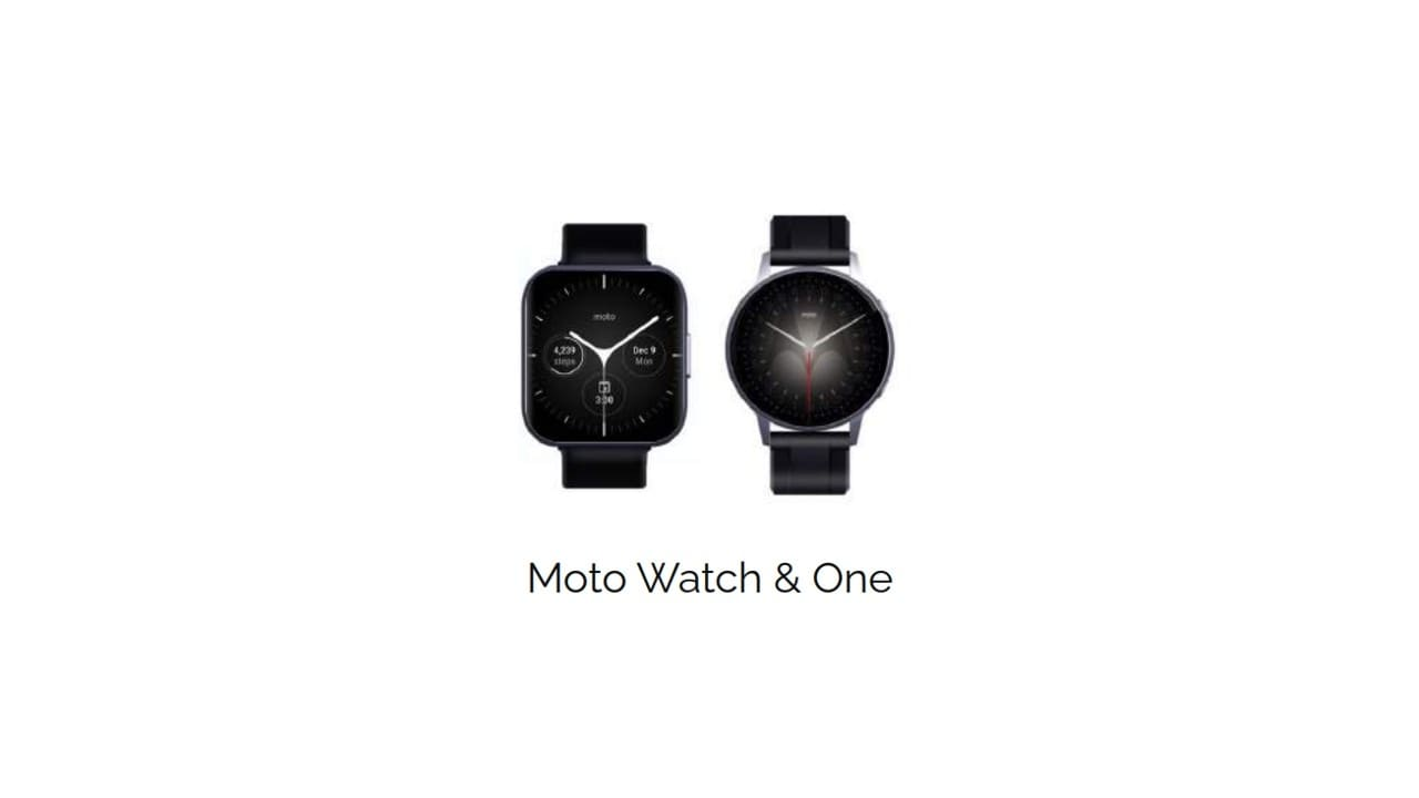 Motorola might launch Moto Watch One, Moto Watch, Moto G smartwatches this year