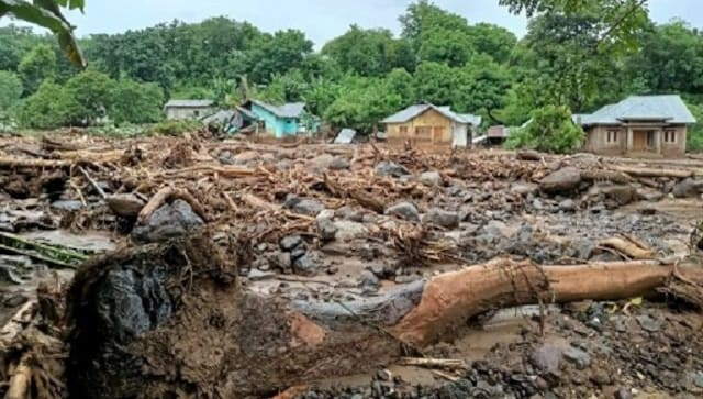 At least 87 dead, dozens missing after flash floods and landslides in Indonesia, East Timor