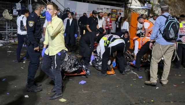 Israel: Several dead in stampede at Jewish pilgrimage site in Mount Meron