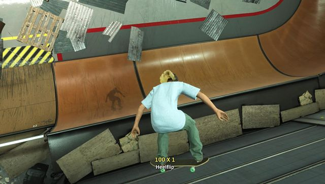 Screen grab from Tony Hawk's Pro Skater 1 + 2