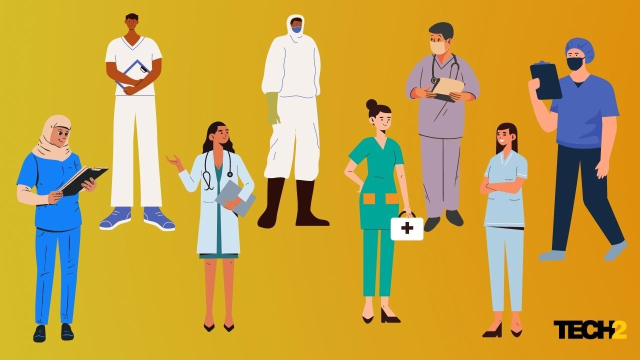 Google Doodle shows its appreciation for all healthcare workers for their service- Technology News, GadgetClock