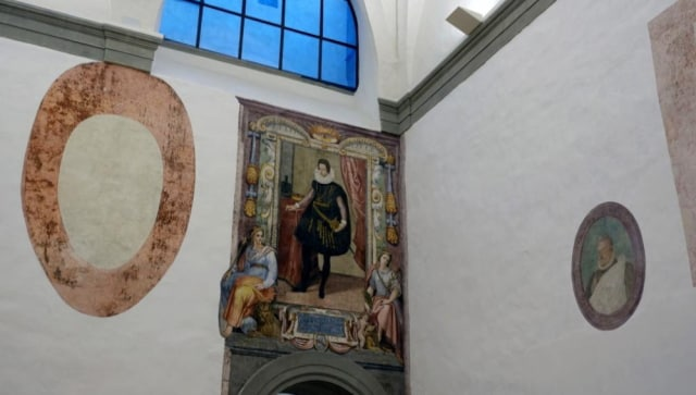 Italy's Uffizi Gallery discovers lost frescoes during COVID shutdown