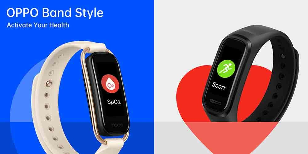 With SpO2 monitoring and heart rate sensors, OPPO's Band Style is a stylish health proposition.- Technology News, Gadgetclock