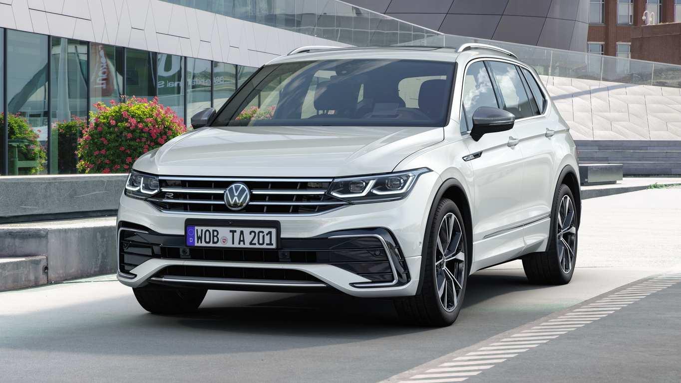 Volkswagen Tiguan Allspace facelift debuts with styling tweaks, MIB3 infotainment- Technology News, Gadgetclock