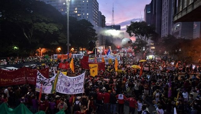 'Enough is enough': Thousands in Brazil protest Jair Bolsonaro's chaotic handling of COVID-19 crisis