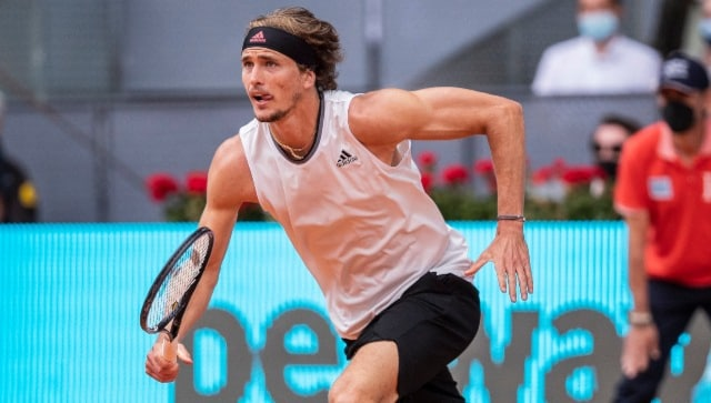 Madrid Open: Alexander Zverev through to final following straight-sets win over Dominic Thiem