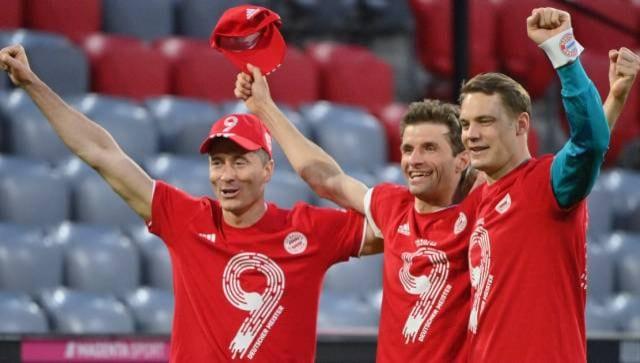 Bundesliga: Thomas Mueller hails Bayern Munich's 'phenomenal' ninth league title in a row