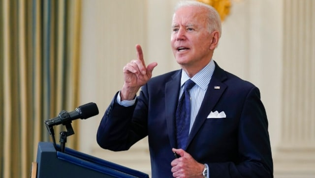 Joe Biden sets new COVID-19 vaccination goal, aims to inoculate 70% of US adults by 4 July