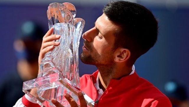 Novak Djokovic warms up for Roland Garros with Belgrade title