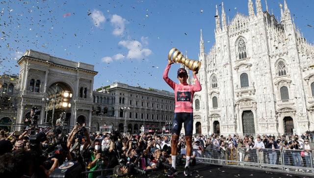 Egan Bernal puts back troubles behind him to add Giro d'Italia title to 2019 Tour de France win