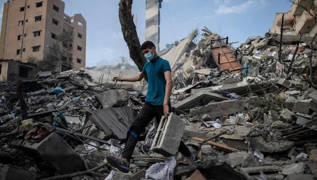 Rocket from Gaza kills two, Israel topples six-storey building; 213 Palestinians killed so far-World News , Firstpost