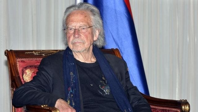 Bosnian Serbs honour Nobel Laureate Peter Handke amidst controversy over author's views on war crimes-Art-and-culture News , Firstpost