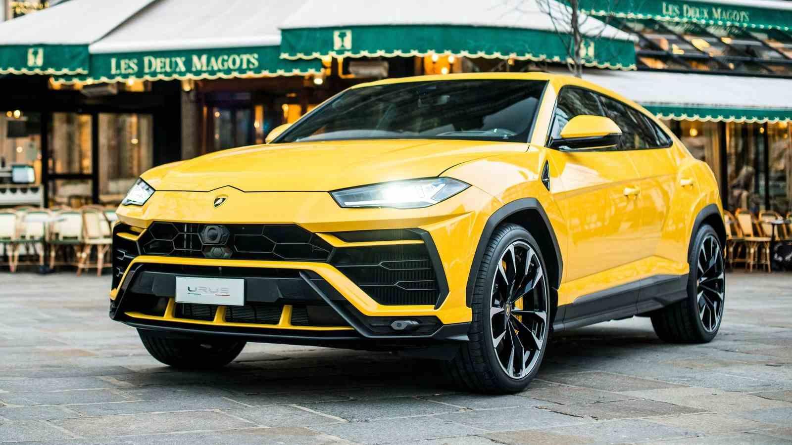 In 2020, the Urus helped Lamborghini better its annual sales record. Image: Lamborghini
