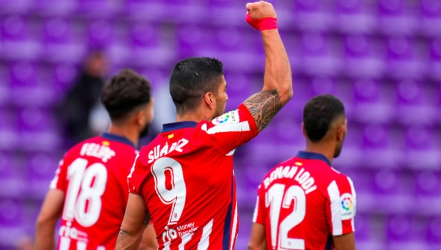 LaLiga: Luis Suarez' winner helps Atletico Madrid pip Real Madrid on tense final day, clinch first title since 2014