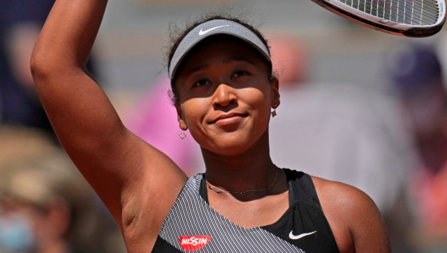 French Open 2021: Naomi Osaka says she's 'a work in progress' on clay after first-round win over Patricia Maria Tig