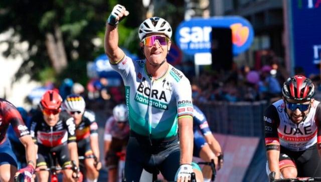 Giro d'Italia: Slovakia's Peter Sagan wins stage 10, Egan Bernal retains leader's jersey