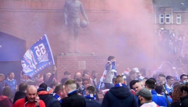 Scottish Premiership: Steven Gerrard's Rangers rout Aberdeen to complete unbeaten league season