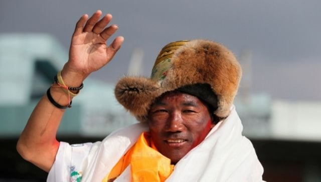 Nepalese Sherpa guide Kami Rita scales Mt Everest for the 25th time, breaking his own previous record