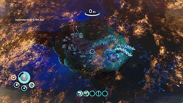 Screen grab from Subnautica: Below Zero on PlayStation 5