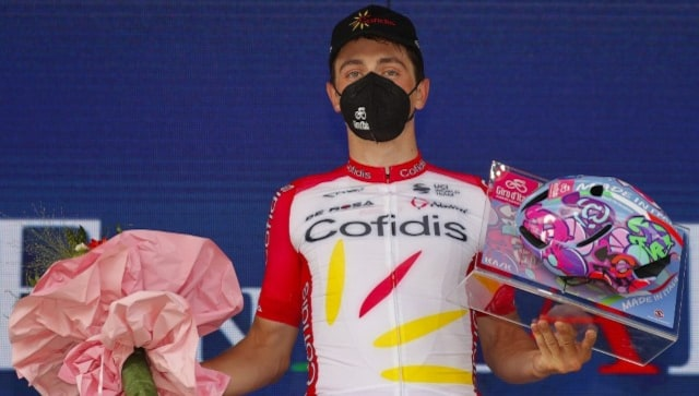 Giro d'Italia: French cyclist Victor Lafay wins eighth stage, Attila Valter holds on to leader's pink jersey