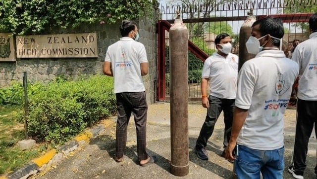COVID-19: After deleted tweet and apology, New Zealand high commission gets oxygen cylinders from Congress youth wing