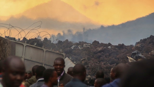 At least 15 dead, 5,000 flee Congo's Goma as Mount Nyiragongo volcano erupts