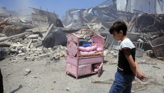 Israel claims Hamas tried to disrupt Iron Dome from Gaza tower that housed news outlets