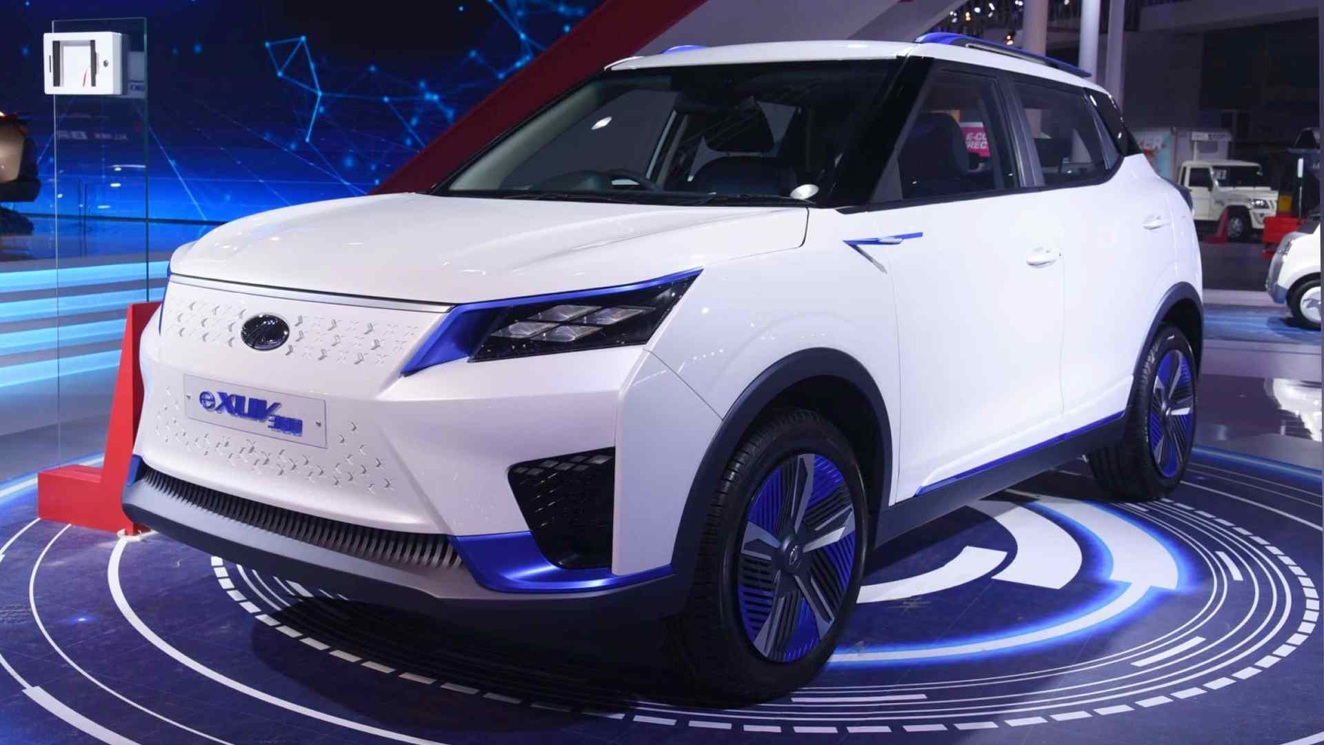The Mahindra eXUV300 will rival the Tata Nexon EV. Image: Mahindra