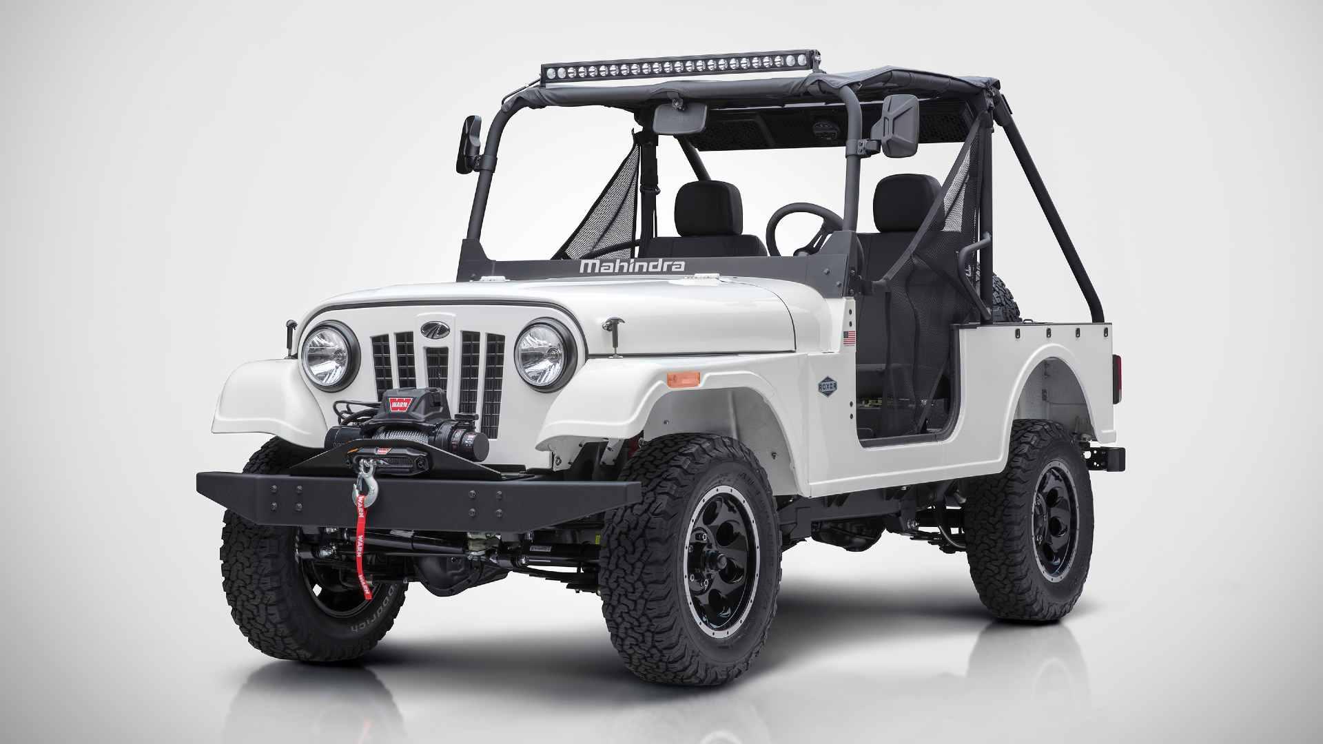 Mahindra's Roxor off-highway vehicle was deemed to violate Jeep's trade dress in the US. Image: Mahindra