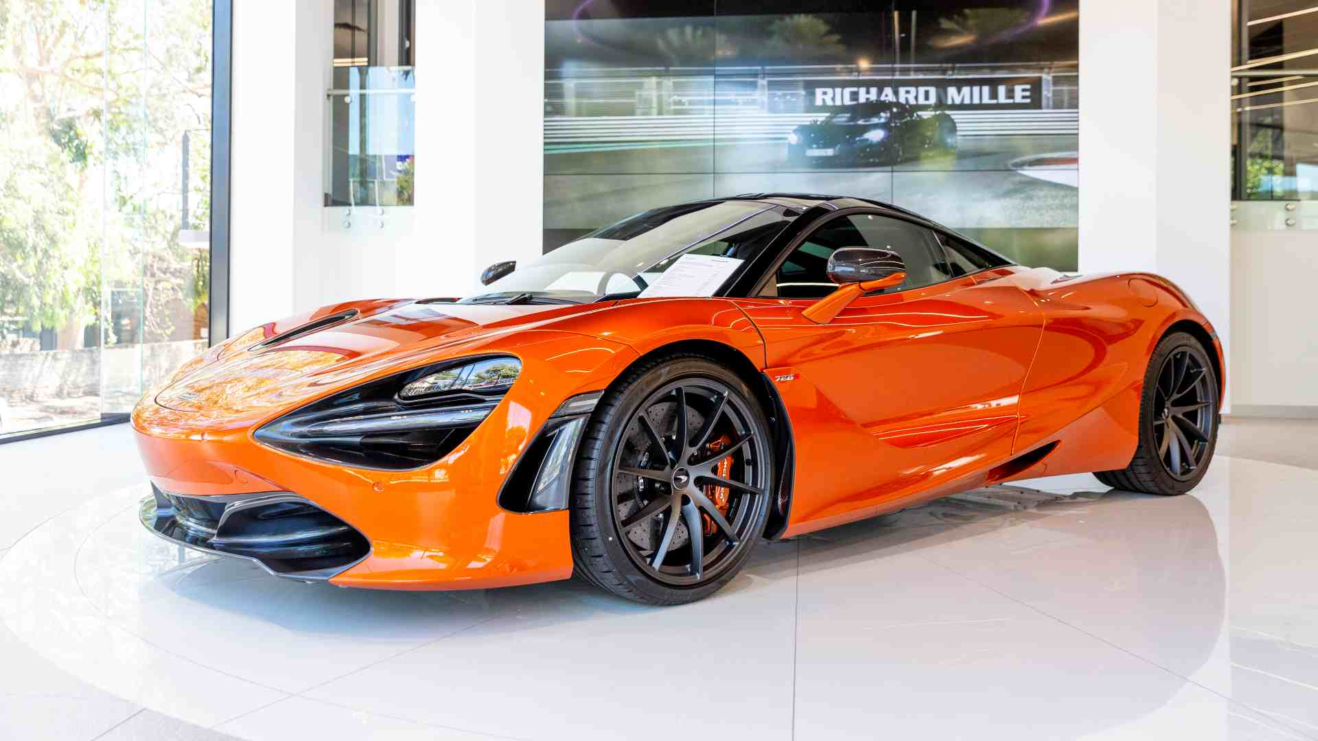 The 720S is set to be one of three core models McLaren will sell in India initially. Image: McLaren