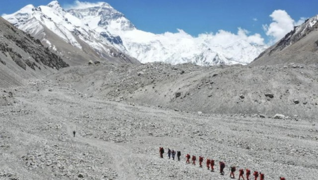 China opens Mount Everest's north side to 38 virus-tested mountaineers
