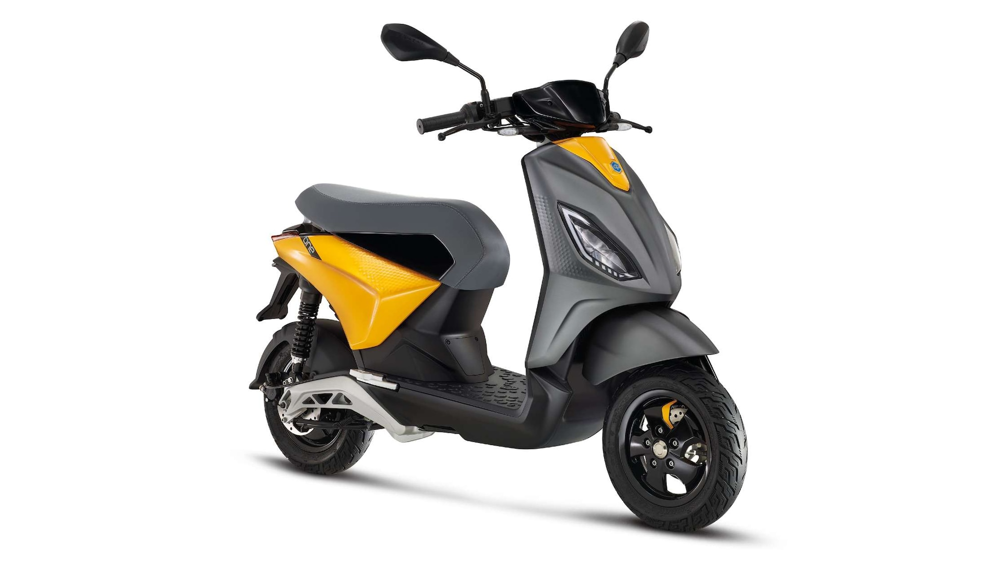 The Piaggio One features removable batteries. Image: Piaggio