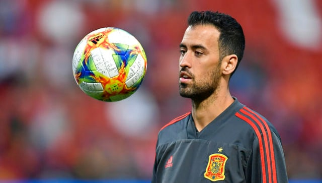 Euro 2020: Sergio Busquets tests positive for COVID-19, set to miss Spain's opener against Sweden