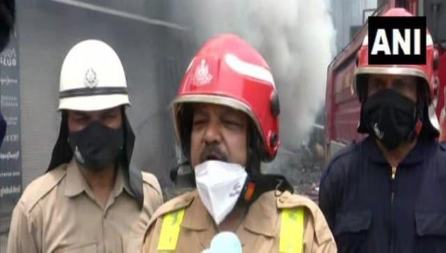 Lajpat Nagar fire: Blaze in showrooms in Delhi market under control; no casualties reported, says official