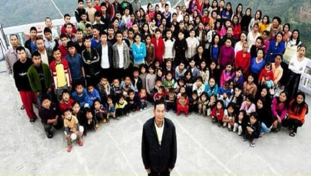 Mizoram man, believed to be patriarch of world's largest family, passes away at 76
