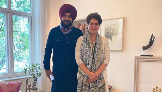 Amid Punjab Congress crisis, former state minister Navjot Singh Sidhu meets Priyanka Gandhi Vadra