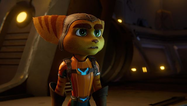 Screen grab from Ratchet and Clank: Rift Apart on PS5