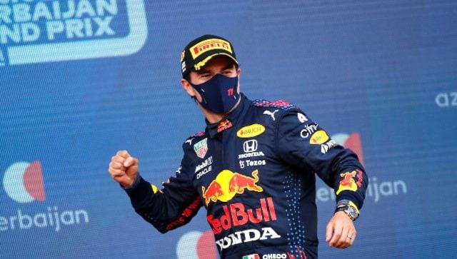 Formula 1 2021: Sergio Perez wins chaotic Azerbaijan GP, Max Verstappen, Lewis Hamilton fail to finish