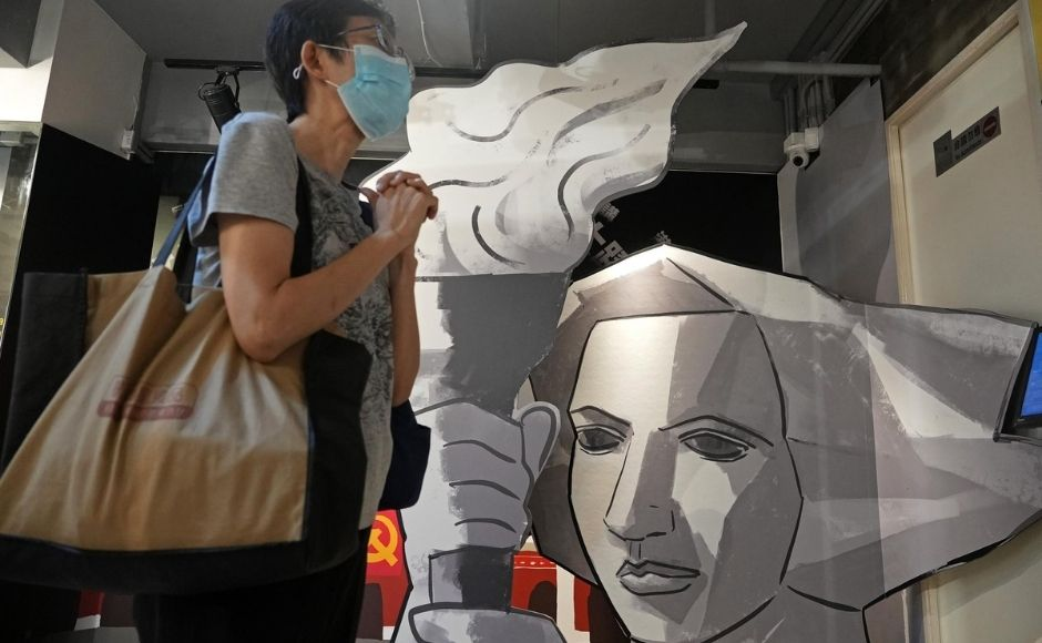 """The crackdown on dissent in Hong Kong followed months of anti-government protests that roiled the former British colony in 2019 and shook leaders back in Beijing. 