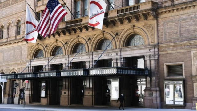 New York's Carnegie Hall to reopen in October after 19-month closure