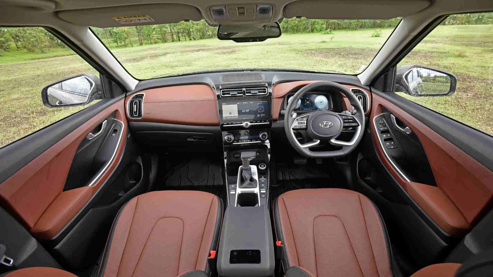 Alcazar is fairly spacious on the inside and well organized.Image: Hyundai