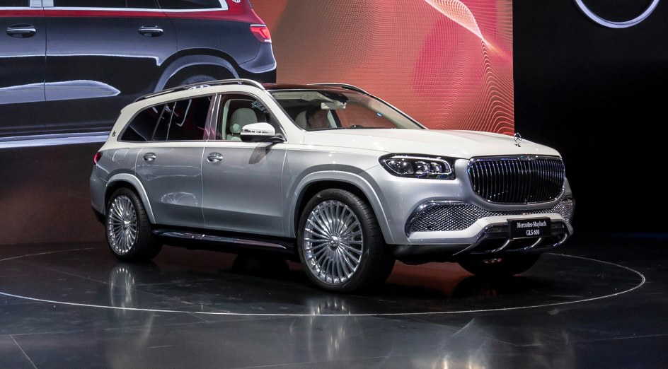 As standard, the Mercedes Maybach GLS 600 is available as a five-seater in India. Image: Mercedes-Benz