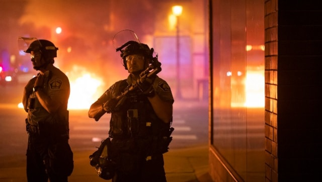 Protests erupt in Minneapolis after Black man shot dead by US Marshals