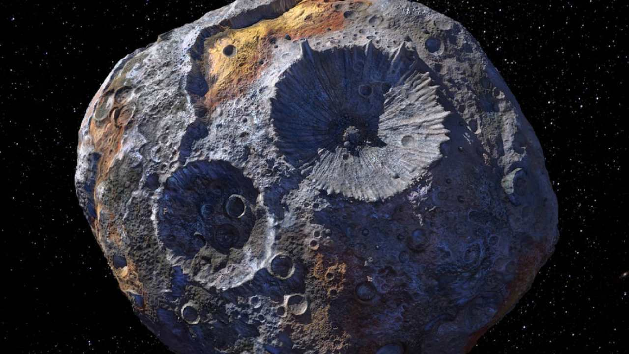 Asteroid 16 Psyche may not be as metallic or dense as initially thought, study finds