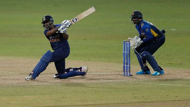 Suryakumar Yadav slammed a fifty and alongside Manish Pandey stabilized India after rapid wickets fell in the pursuit.  Manish left miserably as Surya continued.  Krunal also played well for his 35. AP
