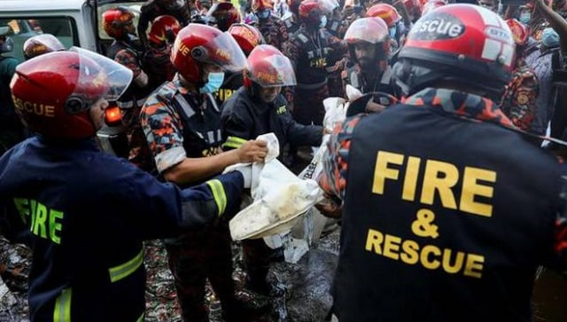 Bangladesh food factory fire: At least 49 killed in blaze outside Dhaka; rescue ops underway